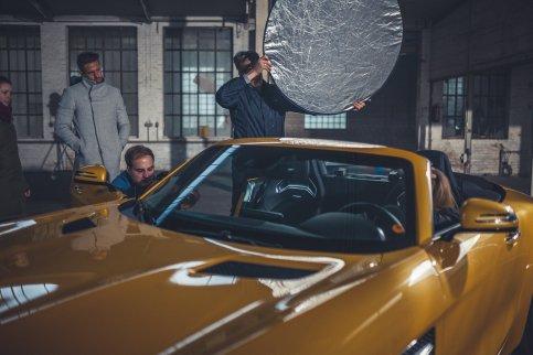 Behind the Scenes Mercedes Foto Shoot