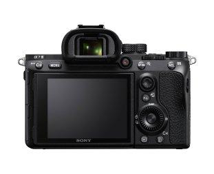 Sony A7 Mk iii Display Sucher Rückseite
