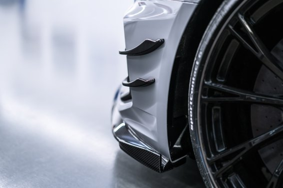 Audi RS4-R Abt Flics Frontsplitter Carbon
