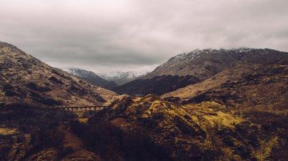 Tal Landschaft See Berge