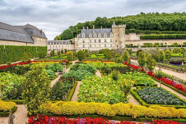 Loire Castle Garden
