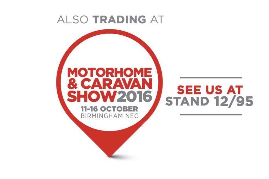 Logo Stand 12.95 at Motorhome & Caravan Show 2016