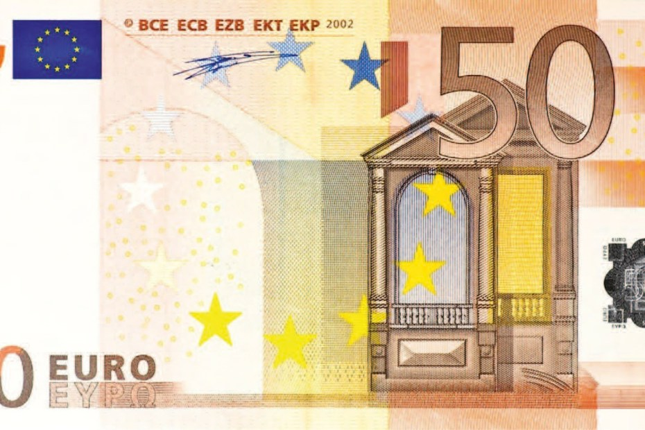Money 50 Euro note
