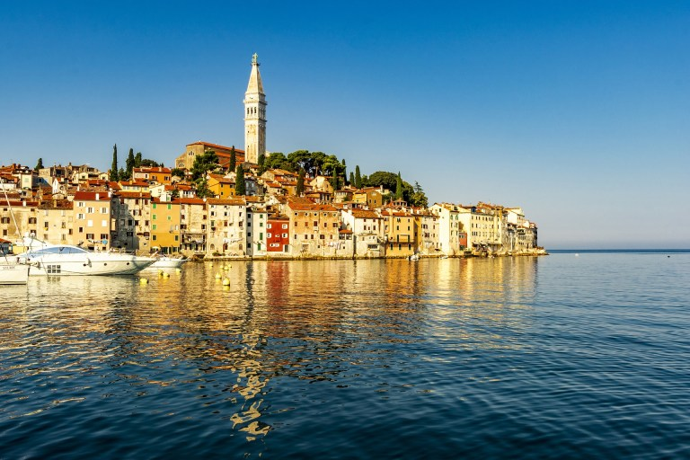 Escorted Motorhome Tour Captivating Croatia Old town Rovinj