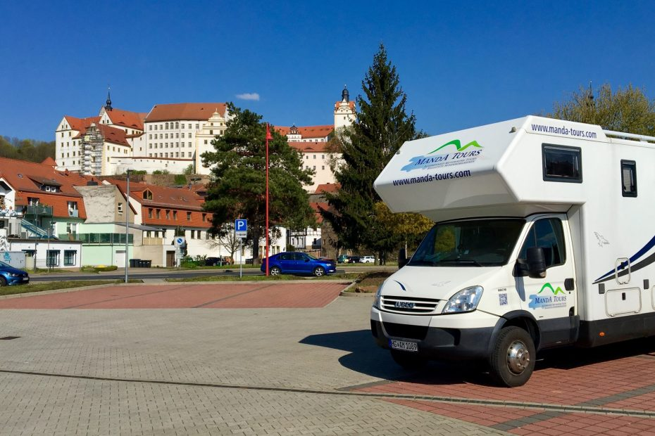 View of Colditz Castle Escorted Motorhome Tour Exciting Eastern Germany