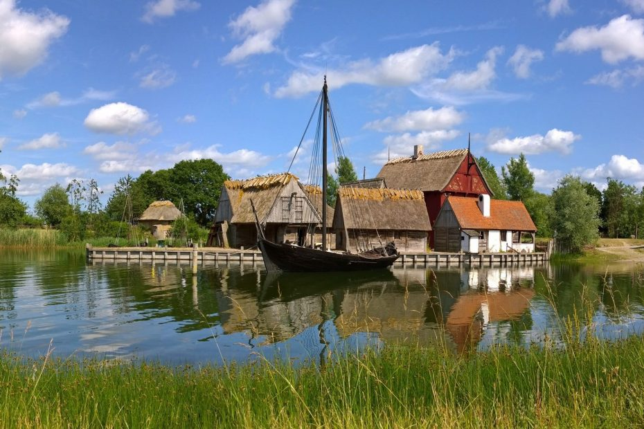 Historic town Denmark