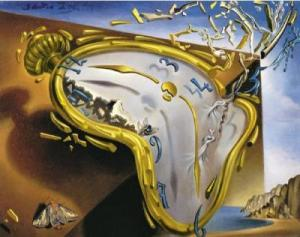 salvador dali - time crash