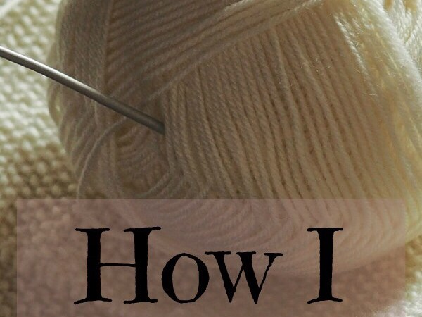 How I Started Knitting