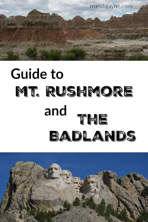 Mt Rushmore and the Badlands