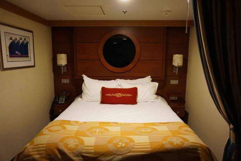 Disney Dream inside stateroom