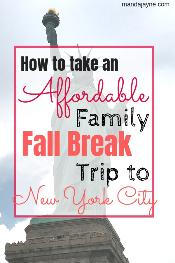 Fall Break Trip to NYC