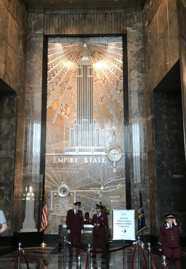 Inside of Empire State Building