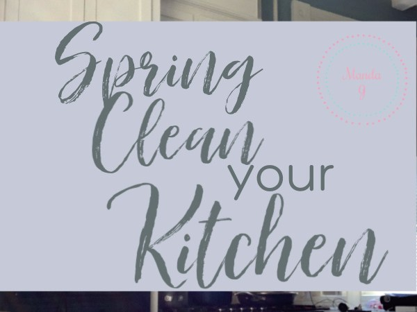 Spring Cleaning Your Kitchen 101