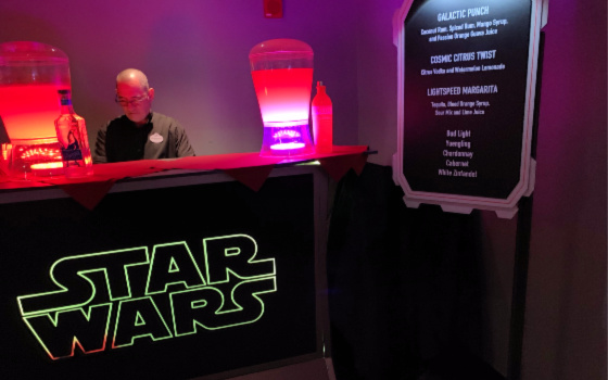 Star Wars Dessert Party Open Bar