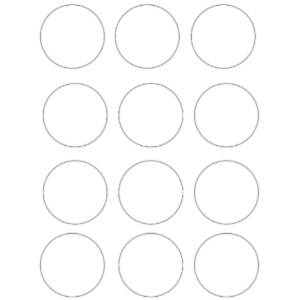 Free Circle Template Printables – Circles You Can Print!