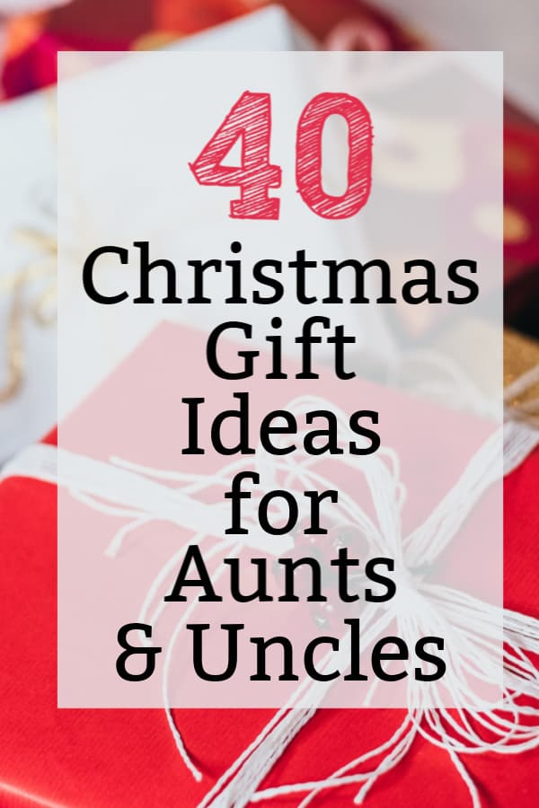 Christmas Gifts For Aunts And Uncles 40 Great Gift Ideas