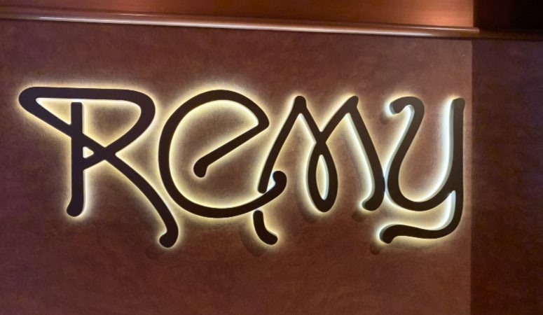 REMY sign on Disney Fantasy