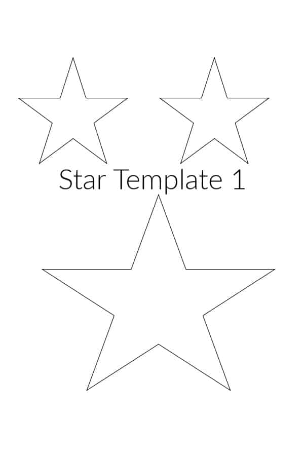 Star Template Printable