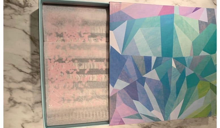 Erin Condren Planner in kaleidoscope box