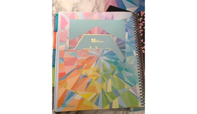 Erin Condren folder pockets