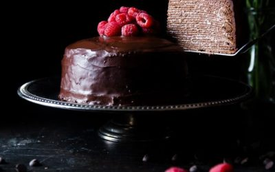 Mandala Organic - chocolate cake