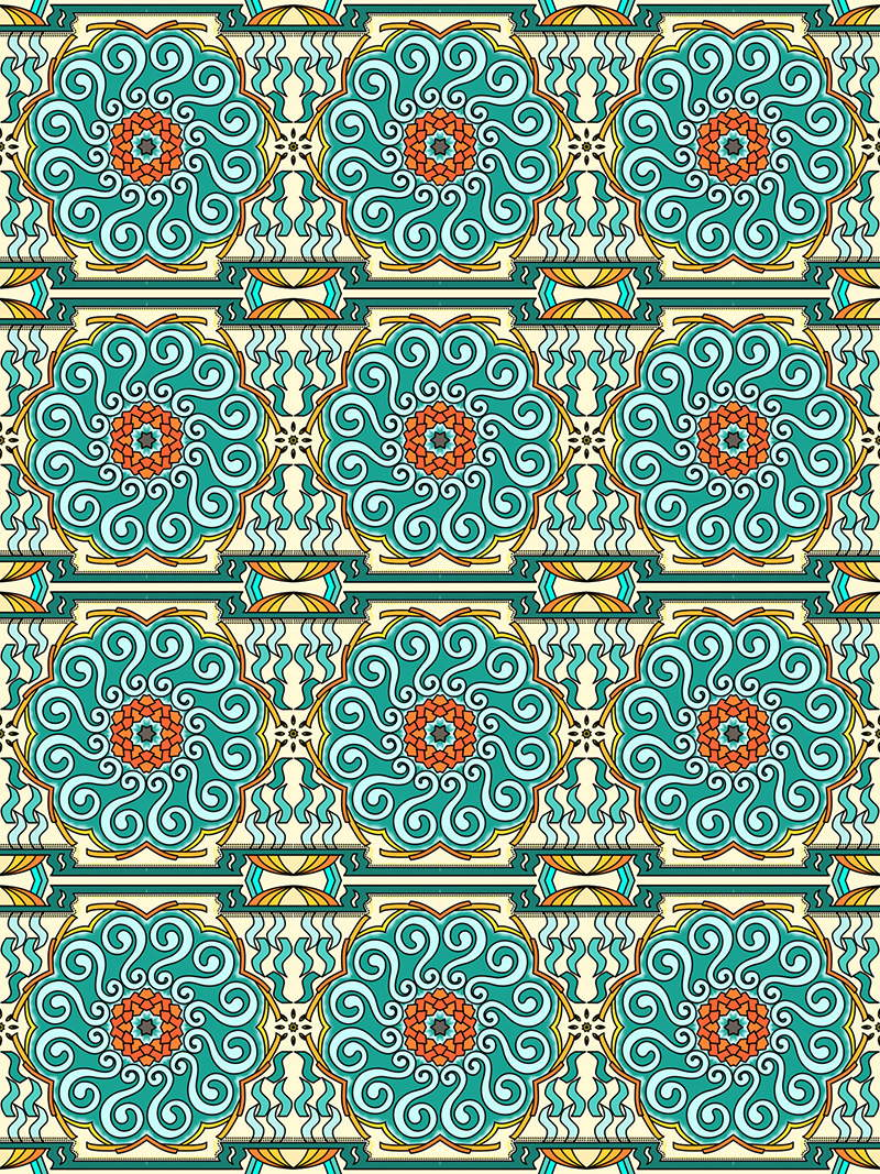 Mandala Pattern Coloring Pages For Adults Mandalas To