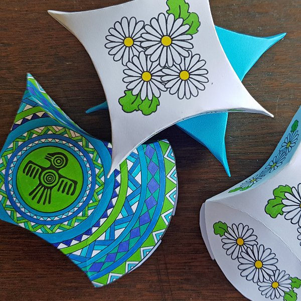 How to make small gift boxes