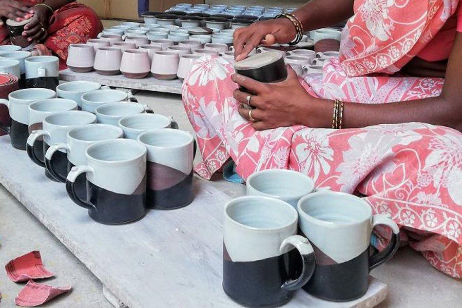 Pottery Auroville, Tamil Nadu, India