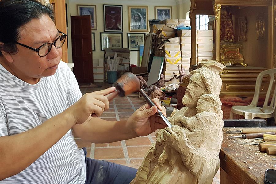 Willy Tadeo Layug, Filipino artist
