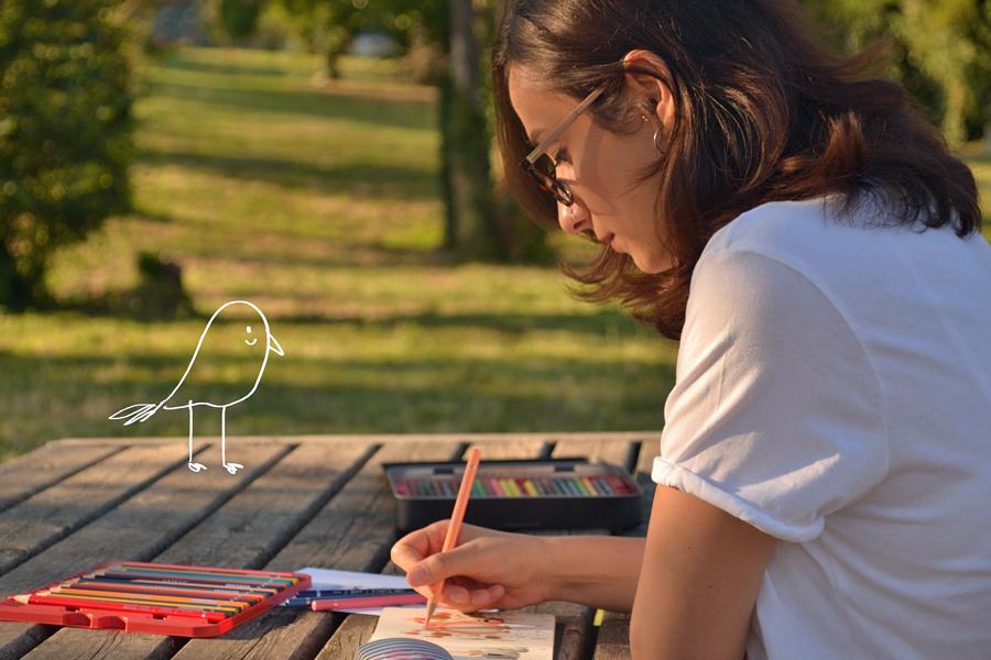 Children's book illustrator, Tika