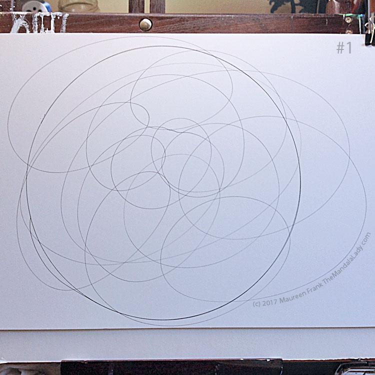 My Journey Mandala Day 1: 1 doodle my journey mandala