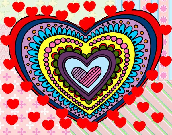 Valentin Para Colorear De Dibujos