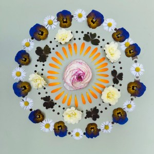 Which is your favorite flower in this mandala?