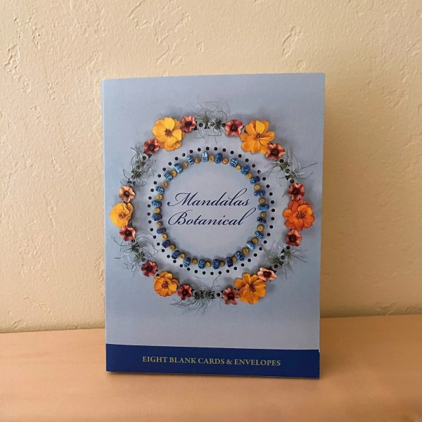 New edition of botanical mandala greeting cards