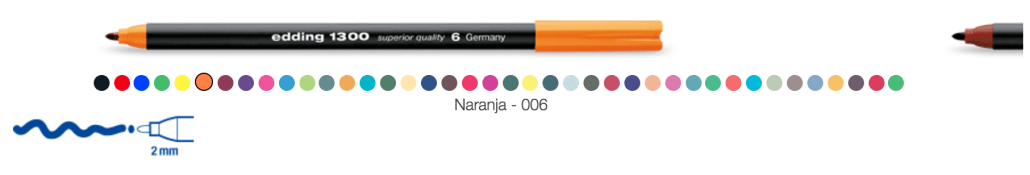 Rotulador edding 1300 colourpen