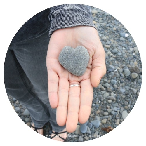 Heart Rock || Mandala Soul Designs