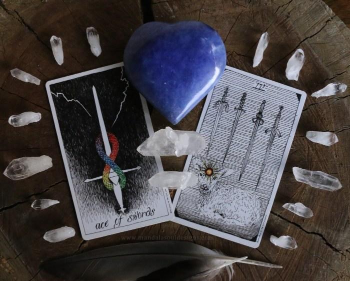 Tarot and Crystals    The Wild Unknown Tarot    Mandala Soul Designs