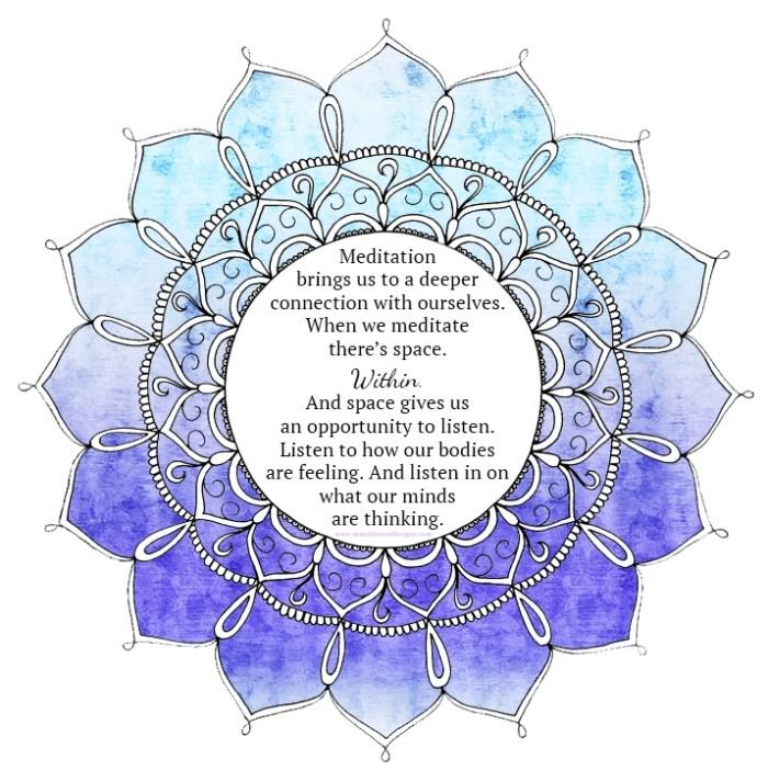 Meditation Mandala || Mandala Soul Designs