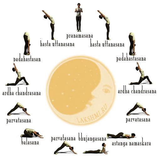 лунная йога