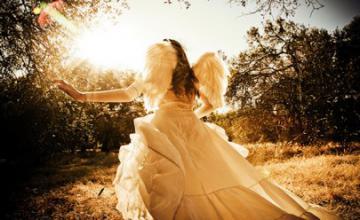 она ангел крылья2