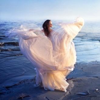 крылья женщина