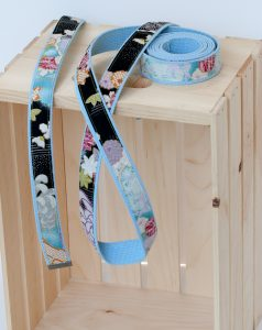 Asian fabric belt