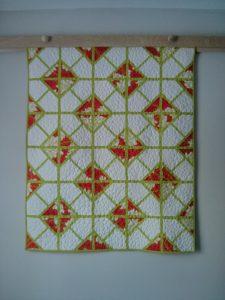 Crib-sized version of pattern