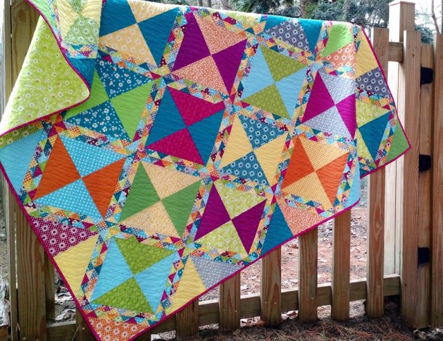 """Fair Day"", quilt pattern by Amanda Leins For RJR Fabrics"