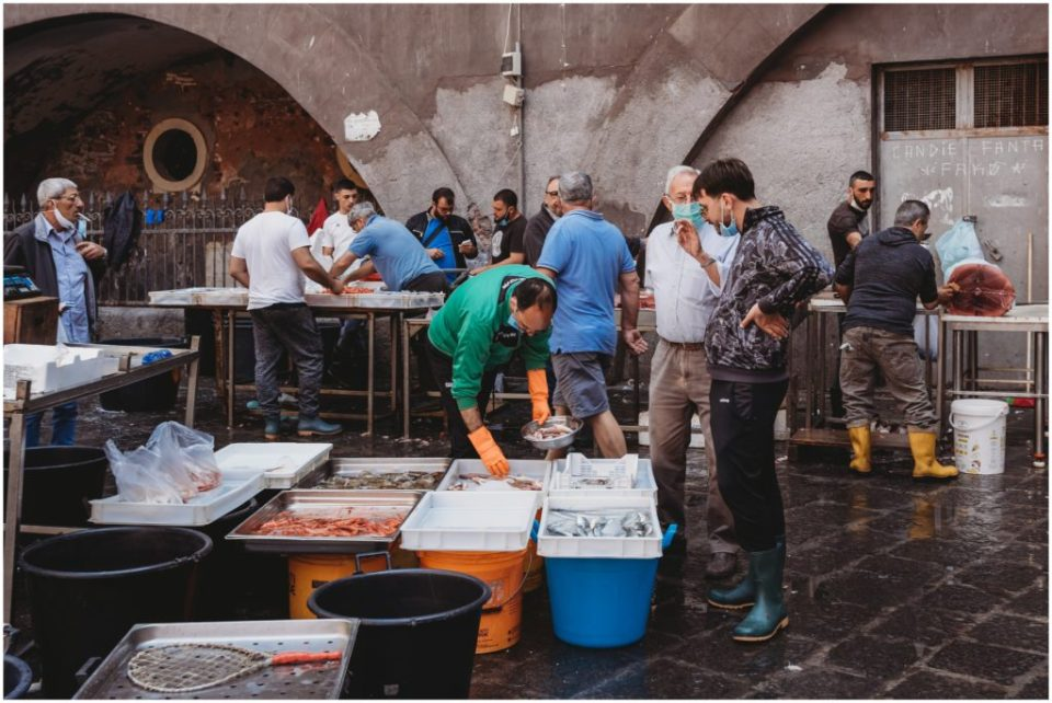 La Pescheria in Catania - Catania fish market