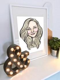 Digital Portrait - Adobe Illustrator & Tablet