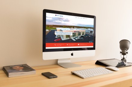 Nick & Dan's Collision - Wordpress Website Creation w/ Appointment Theme