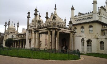 Royal Pavilion - Indian inspired outside, Chinese inspired inside (apparently, I didn't get to go in)