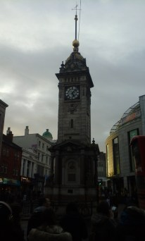 """""""Oo, I see another cool building - I'll be back!"""" I spy the clock tower :)"""