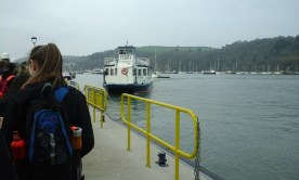 Passenger Ferry to cross the Dart